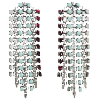 Edgy & Contemporary Fallon Waterfall Earrings For Sale