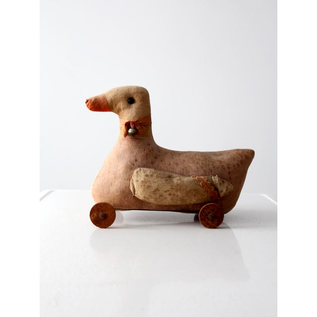 Metal Victorian Toy Duck For Sale - Image 7 of 8