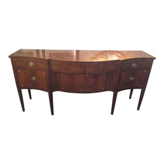 1940s Federal Schmieg and Kotzian Mahogany Sideboard For Sale