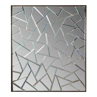 Cracked Ice Mirror