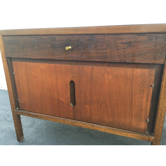 Brown Mid-Century Basic Witz Nightstands - A Pair For Sale - Image 8 of 11