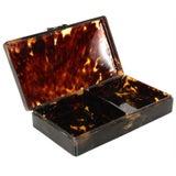 Image of 1920s Antique Bakelite Jewelry Box For Sale