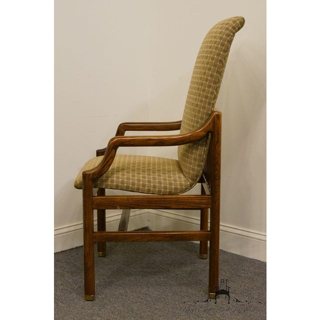 Henredon Mid-Century Modern Solid Walnut Dining Arm Chair For Sale - Image 10 of 13