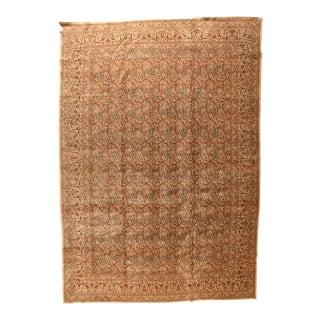 Antique Persian Tabriz Hajjalili Rug For Sale