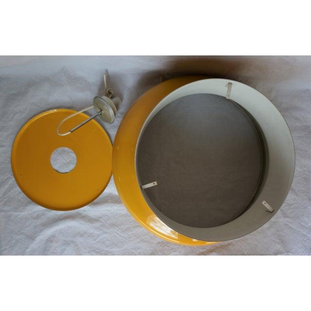 Metal Vintage Large Bumling Pendant Light For Sale - Image 7 of 13