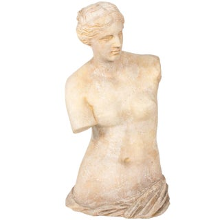 Large Stone Venus De Milo Statue, Circa 20th Century For Sale