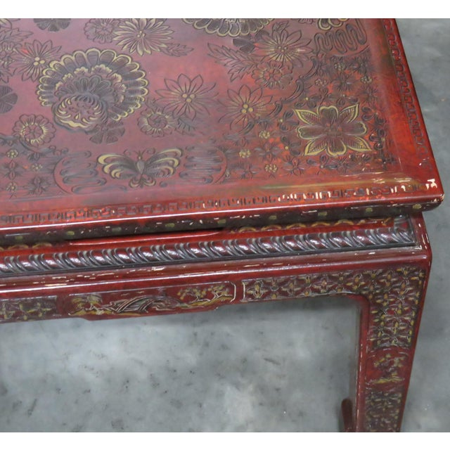 Black 20th Century Asian John Widdicomb Side Tables - a Pair For Sale - Image 8 of 9