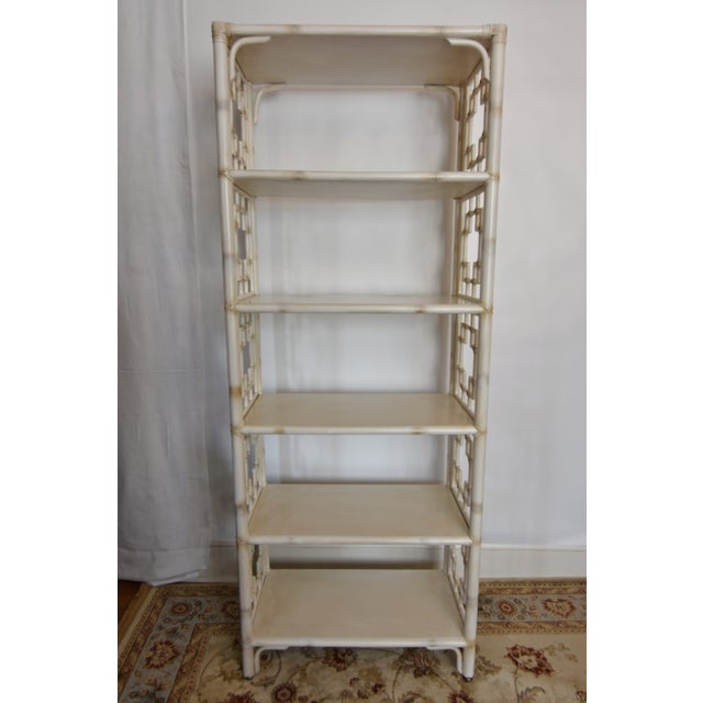 Vintage Chinoiserie Faux Bamboo 201 Tag 232 Re Bookcase Chairish