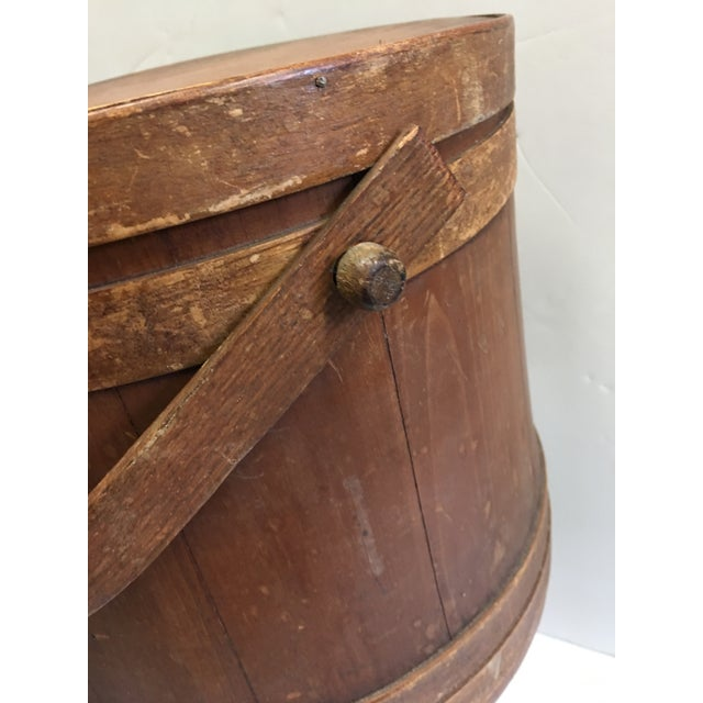 Vintage Wood Humidor & Pipe Rack / Container - Image 5 of 10