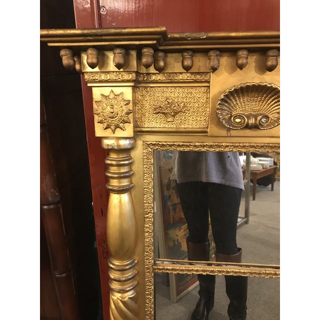 Sheraton Gilt Wall Mirror For Sale - Image 4 of 6