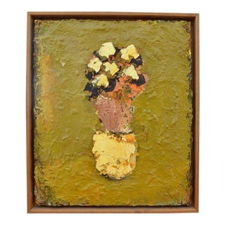 Still Life With Flowers Painting by Lars Dan Pedersen, 2003-2004 For Sale