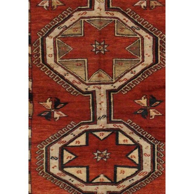 Vintage Turkish Oushak Rug - 3'5'' x 21'6'' - Image 3 of 4
