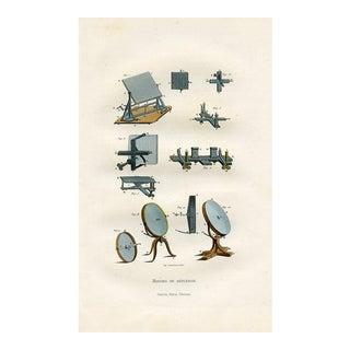 19th-C. French Scientific Prints - Reflective Mirrors For Sale