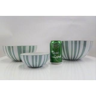 1950s Vintage Grete Prtytz Kittelsen for Cathrineholm Enameld Nesting Bowls- Set of 3 Preview