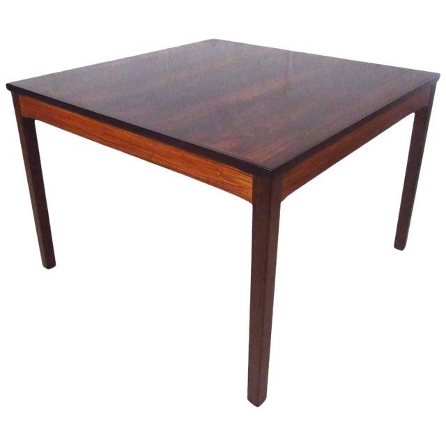Mid-Century Bruksbo Rosewood Coffee Table by Haug Snekkeri For Sale