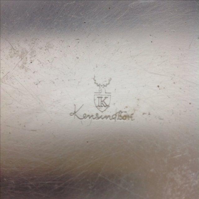 Kensington Ware Lurelle Guild for Kensington Art Deco Tray For Sale - Image 4 of 4