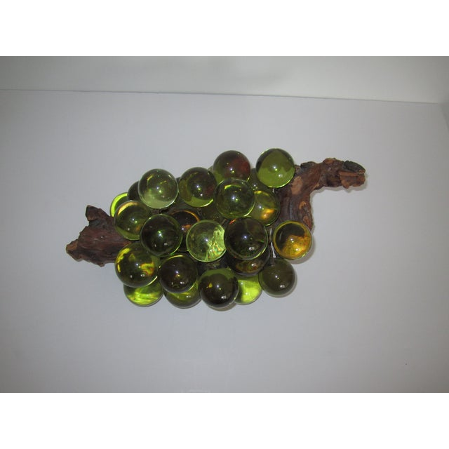 Green Resin Grapes on the Vine - Image 4 of 9