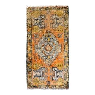Vintage Oushak Turkish Rug For Sale
