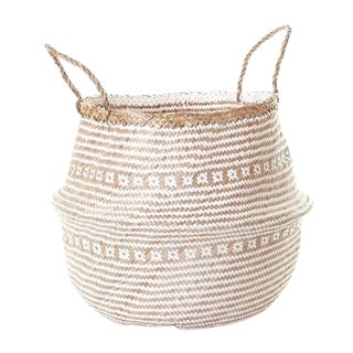 Large Sea Grass Belly Basket