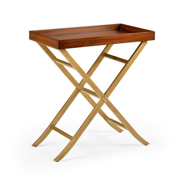 Contemporary Reginald Tray Table For Sale - Image 3 of 3