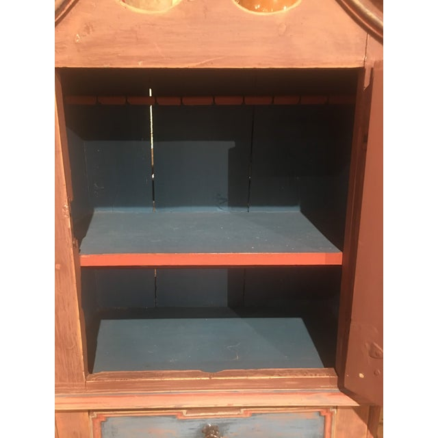 Late 19th Century 19th Century Antique Swedish Cabinet For Sale - Image 5 of 13