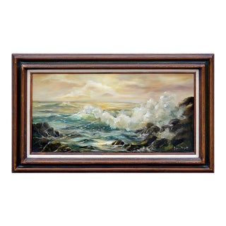 Sunset Sea by Joyce Maryatt For Sale