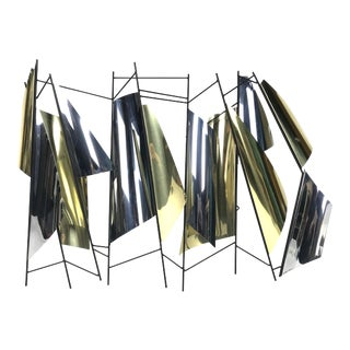 1990s C. Jere Abstract Modern Sails Wall Sculpture For Sale