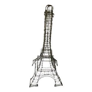 Mid-Century Modern Wire Eiffel Tower For Sale
