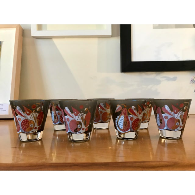 Vintage Georges Briard Double Shot Glasses - Set of 8 - Image 2 of 8