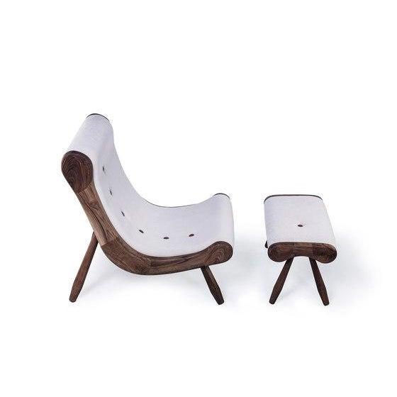 Danish Lounge Chair & Ottoman - Image 2 of 8