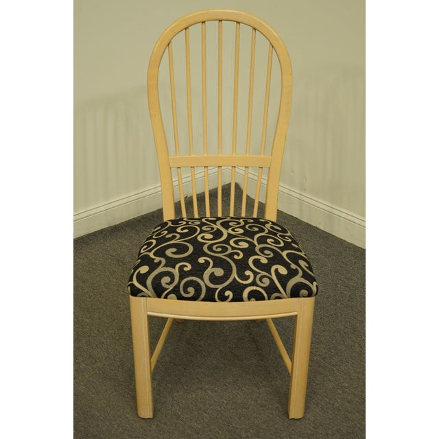 Contemporary Thomasville Furniture Windrift Collection Dining Side Chair For Sale - Image 3 of 10