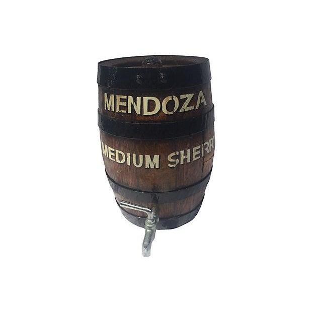 Old English Oak Wine Barrel - Image 4 of 6