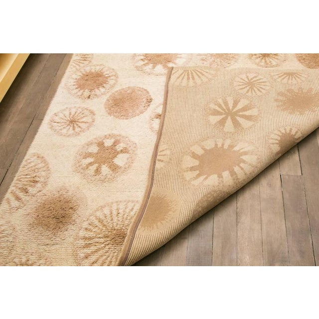 Textile Rare and Decorative Cogolin Wool Carpet, France, 1970 For Sale - Image 7 of 11