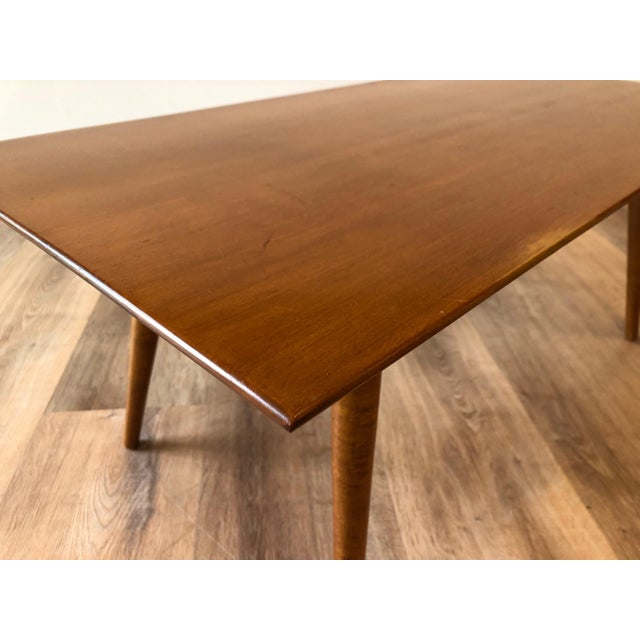 Mid-Century Modern 1950s Compact Paul McCobb Solid Maple Coffee Table For Sale - Image 3 of 7