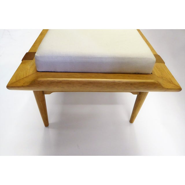 1950s Tomlinson's Sophisticates Line Mid-Century Modern Walnut Bench For Sale - Image 9 of 13