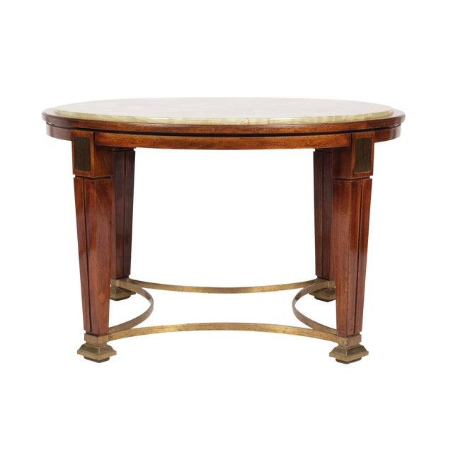 1930s Regency Style Onyx Coffee Table Chairish