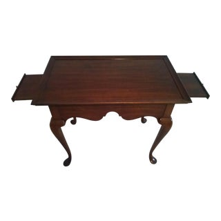 Sale Ending Soon!! Pennsylvania House Solid Cherry Queen Anne Side Table