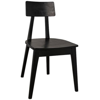 Kimi Chair, Charcoal Black For Sale