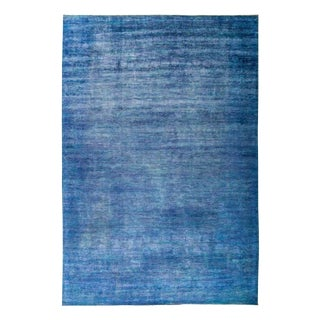 """Overdyed Hand Knotted Area Rug - 9'10"""" x 14'1"""""""