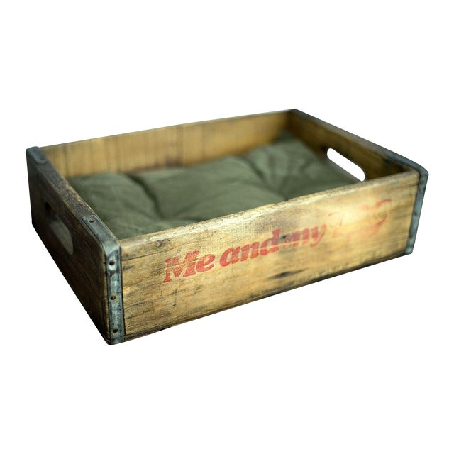 Vintage Soda Crate Pet Bed - Image 1 of 3