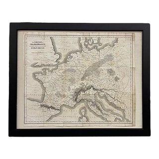 19th Century Map of Roman Empire France For Sale