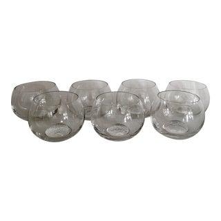 1970s Rosenthal Studio Line Cordial Shot Glasses - Set of 7 For Sale