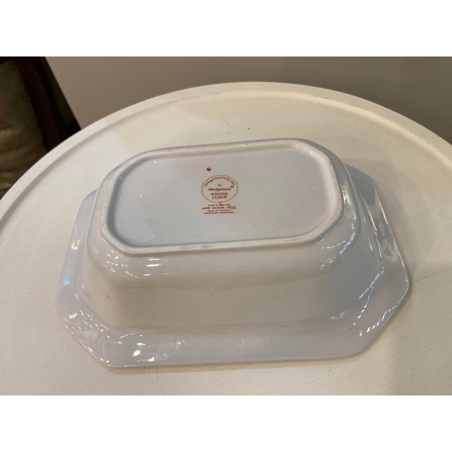1980s Wedgewood Flying Cloud Rust Oval Vegetable Bowl For Sale - Image 5 of 7