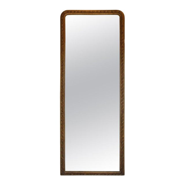 19th Century French Gold Louis Philippe Mirror For Sale