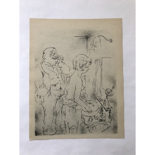Black The Uncle Bu Artists George Grosz Print For Sale - Image 8 of 8