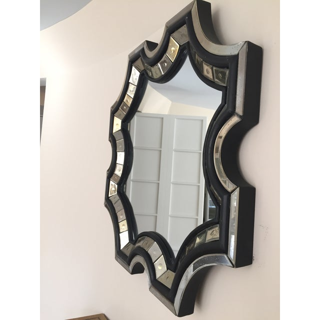French Art Deco reproduction mirror in the manner of Serge Roche. Hand pieced by French artisan in 2008. Purchased from...