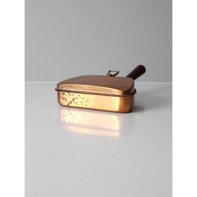 Mid-Century Italian Copper Silent Butler For Sale - Image 6 of 11