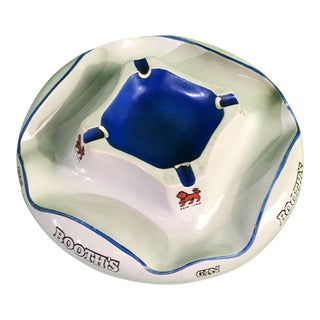1950s Vintage Belgian Ashtray For Sale
