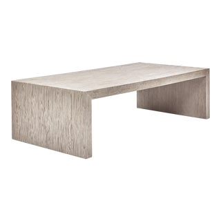 Justine Coffee Table, Putty Grey For Sale