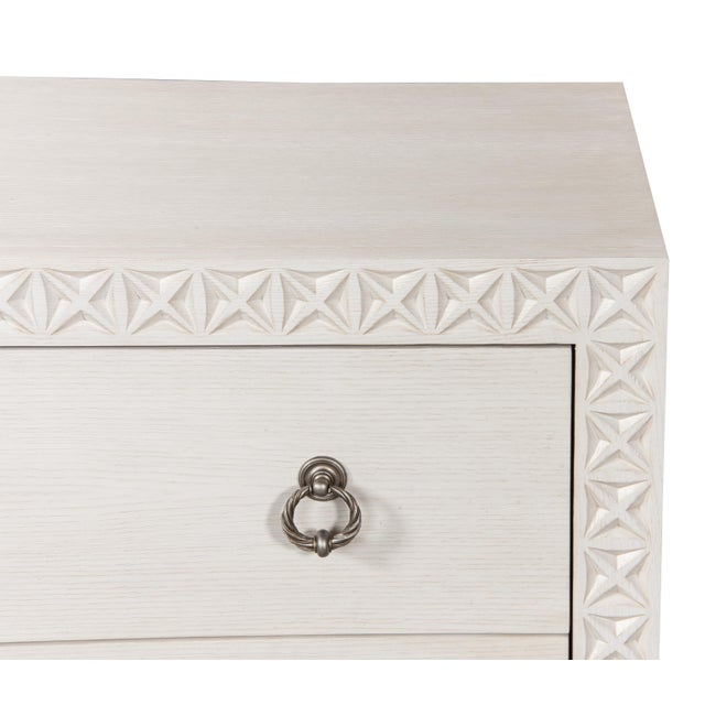 Sarreid Mesa Chest, Working White For Sale - Image 9 of 13
